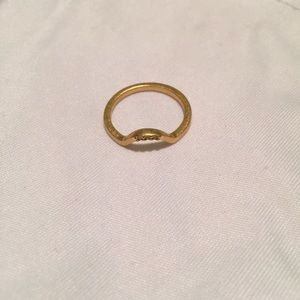 Madewell gold ring size 7